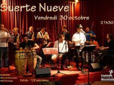 Suerte Nueve Concert Salsa le vendredi 30 octobre 2015, 95480 PierreLay