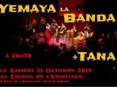 Yemaya La Banda Concert Salsa le samedi 31 octobre 2015, 91150 Etampes