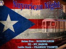Boricanson Nuyorican Night le samedi 14 novembre 2015, 75014 Paris