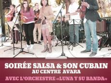 Soirée dansante Salsa et Son cubain avec l'orchestre Luna y su Banda le vendredi 20 novembre 2015,  94260 Fresnes