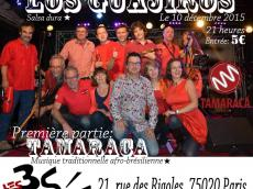 Los Guajiros Concert Salsa le jeudi 10 décembre 2015, 75020 Paris