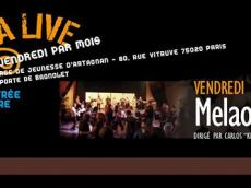Concert Tu Albergue Salsero avec Melao Son le vendredi 11 décembre 2015, 75020 Paris