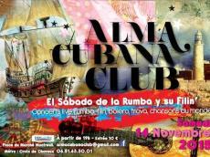 Soirée salsa live Au Alma Cubana Club le samedi 12 décembre 2015, 93100 Montreuil