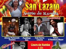 Soirée de Rumba Guiro à San Lazaro le jeudi 17 décembre 2015, 75011 Paris