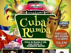 Rumba avec Iya-Emi Rumba Cuba le dimanche 20 décembre 2015, 75011 Paris