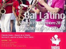 Bal Latino Fanfare La Tina le samedi 19 décembre 2015, 75019 Paris