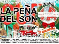 Tin' del Batey en concert à la Peña del Son le dimanche 27 décembre 2015, 93100 Montreuil