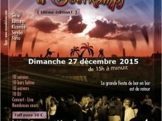 Los Huracanes Concert Salsa le dimanche 27 décembre 2015, 75011 Paris