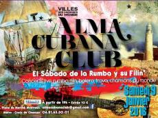 Concert 9x3 Rumba L'Alma Cubana Club le samedi 9 janvier 2016, 93100 Montreuil