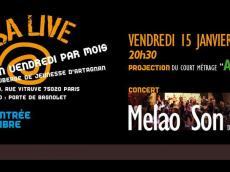 Melao Son Concert Salsa le vendredi 15 janvier 2016, 75020 Paris
