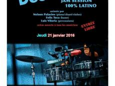 Descarga Paris Jam 100% Latino le jeudi 21 janvier 2016, 75019 Paris