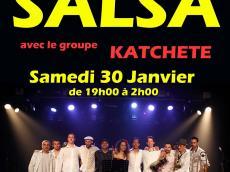 Katchete Concert Salsa le samedi 30 janvier 2016, 78125 Poigny-la-Forêt