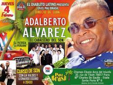 Adalberto Alvarez Concert Salsa le jeudi 4 février 2016, 75017 Paris