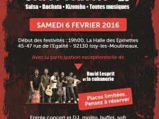La Cubanerie Concert Salsa le samedi 6 février 2016, 92130 Issy-les-Moulineaux