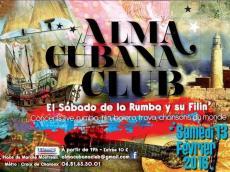 Groupe Tana et Orlando Poleo L'Alma Cubana Club le samedi 13 février 2016, 93100 Montreuil