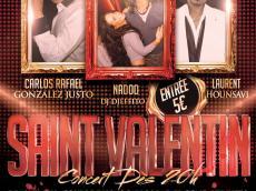 Laurent Hounsavi y su Grupo Concert Salsa le dimanche 14 février 2016, 95120 Saint-Gratien