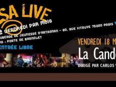 Candela Siempre Concert Salsa le vendredi 18 mars 2016, 75020 Paris