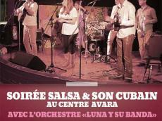 Soirée dansante Salsa et Son cubain avec l'orchestre Luna y su Banda le vendredi 18 mars 2016, 94260 Fresnes