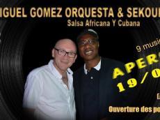Miguel Gomez Orquesta et Sekouba Bambino Concert Salsa le samedi 19 mars 2016, 75011 Paris