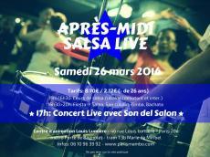 Son del Salón Après-midi salsa live le samedi 26 mars 2016, 75020 Paris