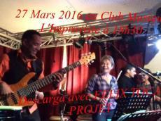 Felix Toca Descarga Salsa le dimanche 27 mars 2016,  75013 Paris