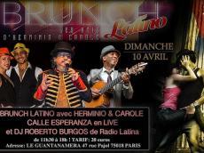 Calle Esperanza Brunch Latino le dimanche 10 avril 2016, 75018 Paris