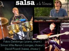 Fabio Deldongo Concert Salsa le samedi 23 avril 2016, 92190 Meudon