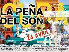 Son Cuba en concert à la Peña del Son le dimanche 24 avril 2016, 93100 Montreuil