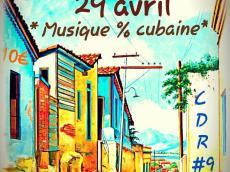 Colectivo Iye Ife En concert 100% cubain le vendredi 29 avril 2016, 75014 Paris