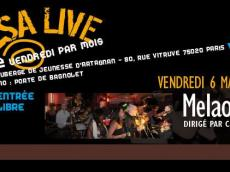 Melao Son Concert Tu Albergue Salsero le vendredi 6 mai 2016, 75020 Paris
