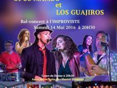 Opus Mambo & Los Guajiros Concert Salsa le samedi 14 mai 2016, 75013 Paris