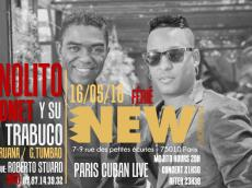 Manolito Simonet y su Trabuco Concert Salsa le lundi 16 mai 2016, 75010 Paris