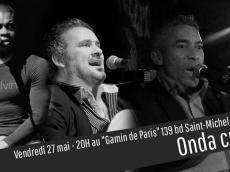 Trio Onda Cubana Concert Son cubain le vendredi 27 mai 2016, 75005 Paris