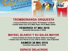 Tromboranga Orquesta Concert Salsa le vendredi 27 mai 2016, 94410 Saint-Maurice