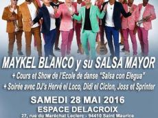 Maykel Blanco y su Salsa Mayor Concert Salsa le samedi 28 mai 2016, 94410 Saint-Maurice