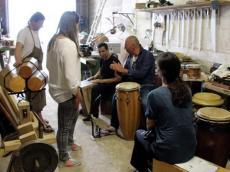 Visite Alix Percussions Fabricant de percussions le samedi 25 juin 2016, llée des Bourreliers. ZI des Tourelles. 72800 Le Lude