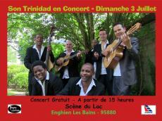 Son Trinidad Concert Son cubain le dimanche 3 juillet 2016, 95880 Enghien-les-Bains