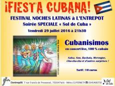 Cubanisimos Concert Salsa le vendredi 29 juillet 2016, 75014 Paris