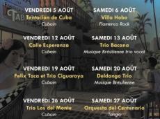 Trio Ciguaraya Concert Salsa le vendredi 19 août 2016, 75020 Paris