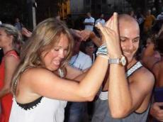 Gissel Ortiz et Fares Shanguito en son cubain