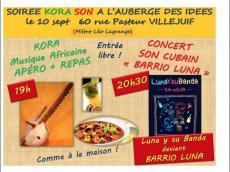 Barrio Luna Concert Son cubain le samedi 10 septembre 2016, 94800 Villejuif