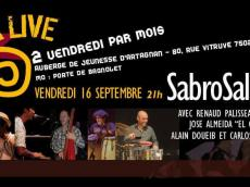 Sabrosalsa 5to Concert Salsa le vendredi 16 septembre 2016, 75020 Paris