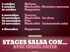 Stage de musicalité La Clave le dimanche 13 novembre 2016, 94240 L'Haÿ-les-Roses
