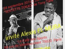 Sextet Tokao Concert Salsa le samedi 24 septembre 2016, 75020 Paris