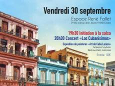 Los Cubanisimos Concert Salsa le vendredi 30 septembre 2016, 91560 Crosnes