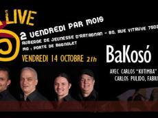 BaKosó 4tet Concert Son cubain le vendredi 14 octobre 2016, 75020 Paris