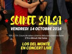 Los del Monte Concert Son cubain le vendredi 14 octobre 2016, 75011 Paris