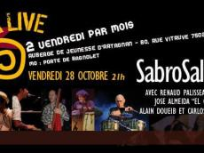 Sabrosalsa 5to Concert Salsa le vendredi 28 octobre 2016, 75020 Paris