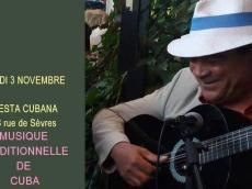 Fiesta Cubana Son cubain le jeudi 3 novembre 2016, 75007 Paris