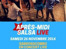 SabrosoCombo Concert Salsa le samedi 26 novembre 2016, 75020 Paris